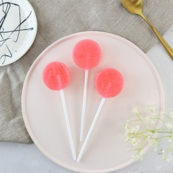 Alcoholic Rhubarb Gin Lollipops (Pack of 5)