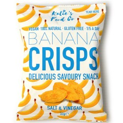 Salt & Vinegar Savoury Banana Crisps