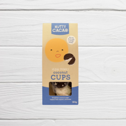 100% Natural Coconut Cups (3 x 100g boxes)