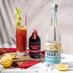 Bloody Bens Gin and Bloody Mix Gift Pack