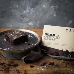 Gluten Free American Style Chocolate Brownies, pack of 4