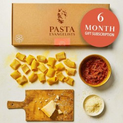 Six Month Fresh Pasta Gift Subscription