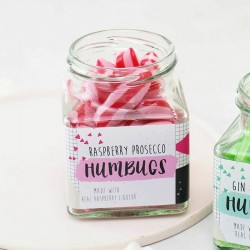 Raspberry Prosecco Humbugs