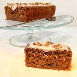 Vegan Toffee & Pecan Cake