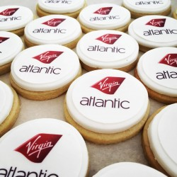 Logo and Message Vanilla Gift Biscuits