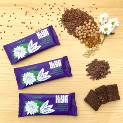 Handmade Plant Protein Snack Bars - Cacao (Box of 15)