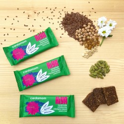 Handmade Plant Protein Snack Bars - Cardamom (Box of 15)