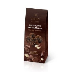 Chocolate & Hazelnut Vegan Healthy Truffles - 3 packs of 10 truffles