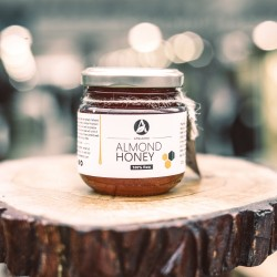 200g/500g/1kg Spanish Almond Honey (100% Pure/Raw/Unpasteurised) by Amalsons