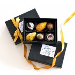 Classic Chocolates Collection with Coffee, Vanilla and Salted Caramel