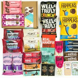 Luxury Chocolate snack Box with 30 indulgent healthy treats