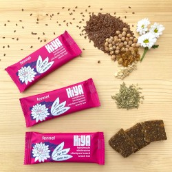 Handmade Plant Protein Snack Bars - Fennel (Box of 15)