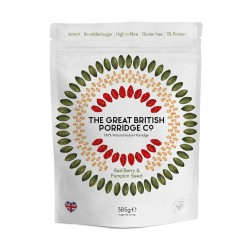 Red Berry & Pumpkin Seed Instant Porridge (3 x 385g packs)