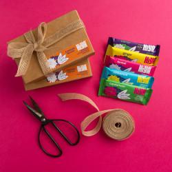 Hiya Snack Bar Gift Box, Vegan, Gluten Free, Toasty and Aromatic (5 Bars)