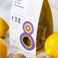 Raw Gluten-Free Lemon & Chia Seed Macaroons