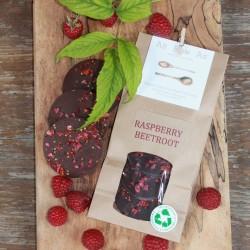 Raspberry Beetroot Boost discs