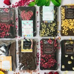 Dairy free vegan chocolate slab gift set - includes Easter bunny slab!