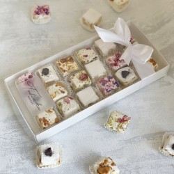 Handmade Nougat Medium Gift Box (18 pieces)