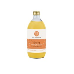X4 550ML Sparkling Passionfruit + Turmeric Water Kefir