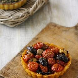 Tomato & Olive Flan (Vegan & Gluten Free)
