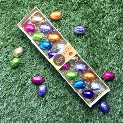 Gift Box of 16 Mini Eggs - Dairy Free Easter Gift