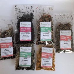 Immune Boosting Loose Leaf Tea Sample Collection