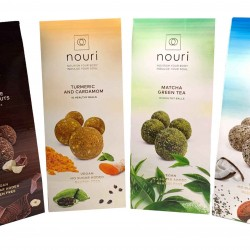 Healthy Truffles Selection Pack (4 packs of 10 truffles)