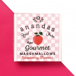 Gourmet Raspberry Marshmallows (Vegan)