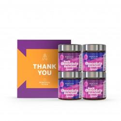 Chocolate & Hazelnut Spread Gift Box 'Thank You'