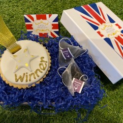 British 'Winner' Biscuit Box