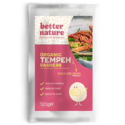 Organic Vegan Meat | Tempeh Rashers (Pack of 4)