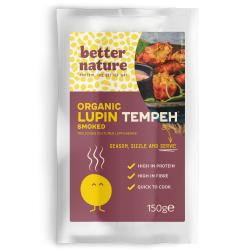 Organic Vegan Meat | Smoked Lupin Tempeh (Pack of 4)