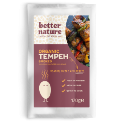 Organic Vegan Meat | Smoked Tempeh (4 packs)