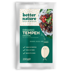 Organic Vegan Meat | Original Tempeh (Pack of 4)