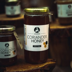 200g/500g/1kg Spanish Coriander Honey (100% Pure/Unpasteurised/Raw) by Amalsons