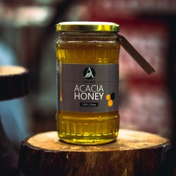 200g/500g/1kg Romanian Acacia Honey (100% Pure/Raw/Unpasteurised) by Amalsons
