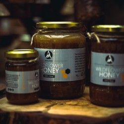 Romanian Wild Flower Honey | 100% Pure, Raw & Unpasteurised