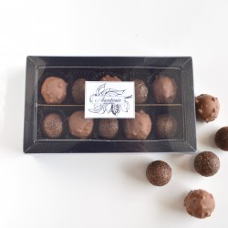 Handmade Sea Salt and Hazelnut Caramel Selection Box