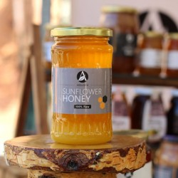 Romanian Sunflower Honey | 100%,Pure, Raw & Unpasteurised