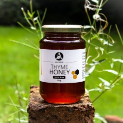 200g/500g/1kg Spanish Thyme Honey (100% Pure/Raw/Unpasteurised) by Amalsons