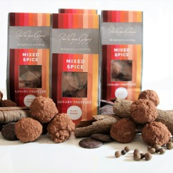 Mixed Spice Vegan Truffles