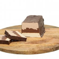 Whole Halva Trio cake - Vanilla, Nougat & Chocolate