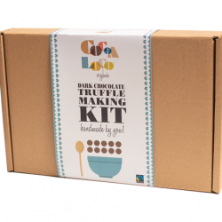 Dark Chocolate Truffle Making Kit