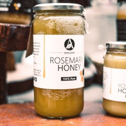 Spanish Rosemary Honey | Pure, Raw & Unpasteurised