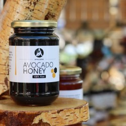 200g/500g/1kg Spanish Avocado Honey (Pure/Raw/Unpasteurised) by Amalsons
