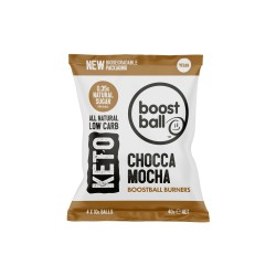 Keto Boostball Burners - Chocca Mocha