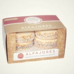Original Dulce de Leche Alfajores Biscuits (Box of 4)