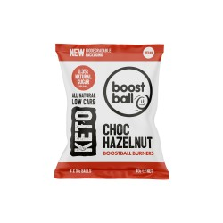 Keto Boostball Burners - Choc Hazelnut Balls (12 Pack)