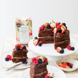 Decadent Chocolate Fudge Cake Mix (Vegan, Gluten Free, Refined Sugar Free)