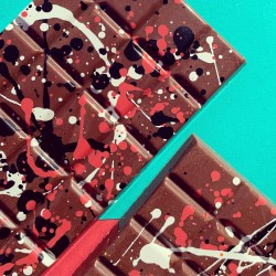 Rocky Road - Lick Chocolate by Essy & Bella Chocolate. Vegan chocolate bar